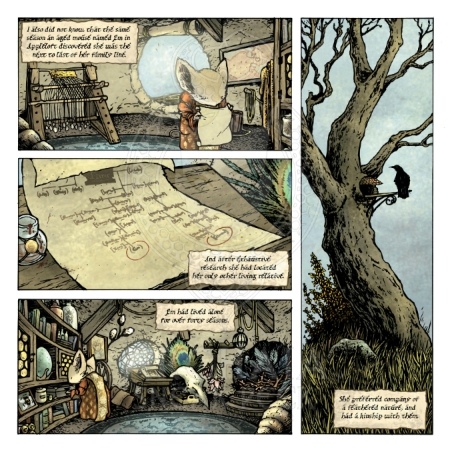 Mouse Guard Black Axe 001 Preview_PG2