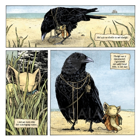 Mouse Guard Black Axe 001 Preview_PG6