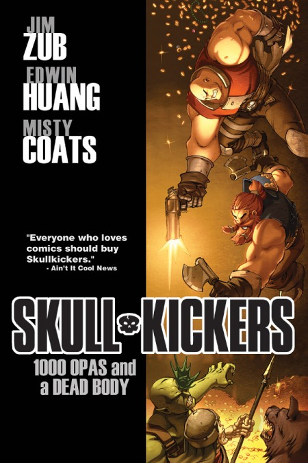 Skullkickers Trade Cover