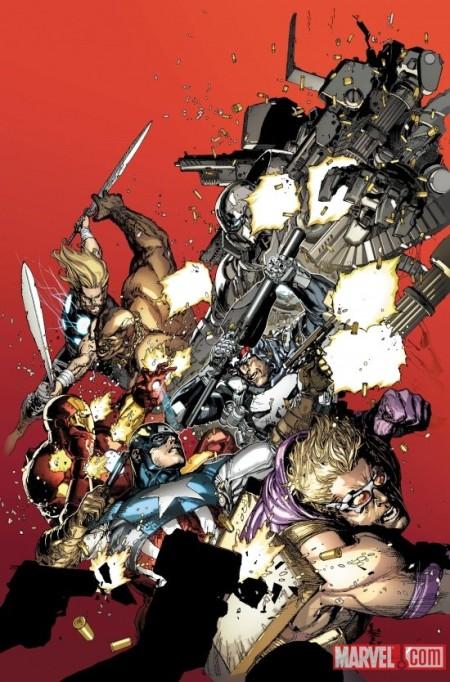 Ultimate Avengers vs. New Ultimates #1 Cover