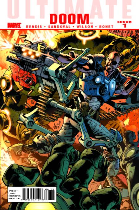 Ultimate Comics Doom #1