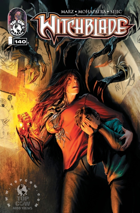 Witchblade #140 stamped