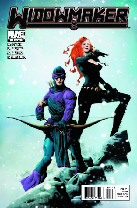 Widowmaker #1 Cover