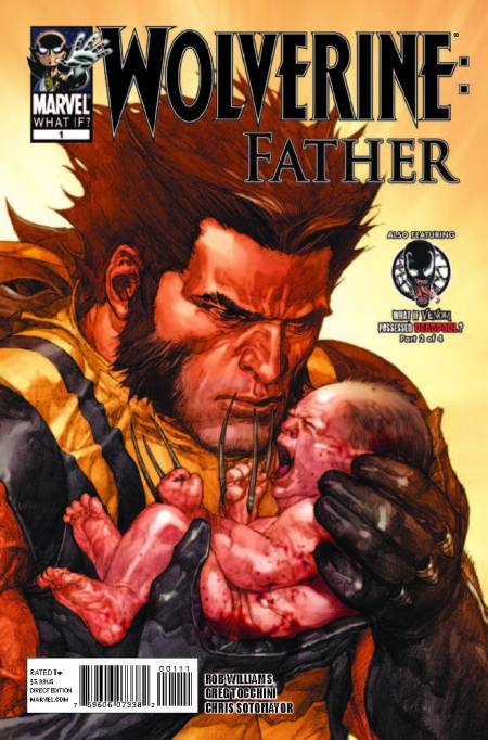 What If? Wolverine: Father Cover