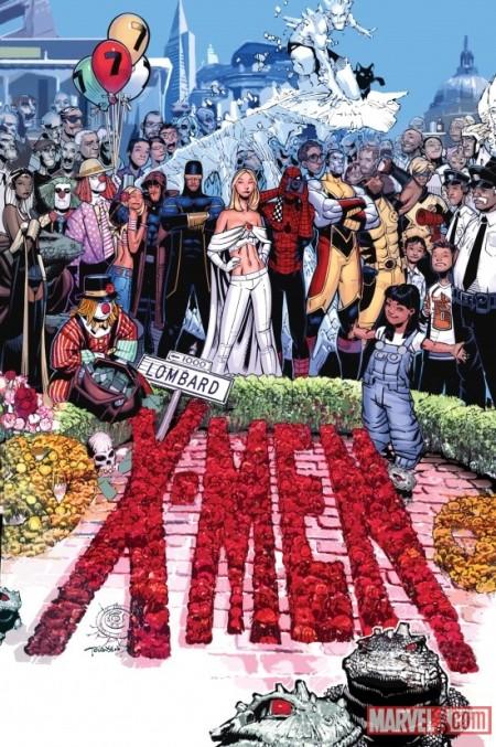 X-Men #7 cover bachalo
