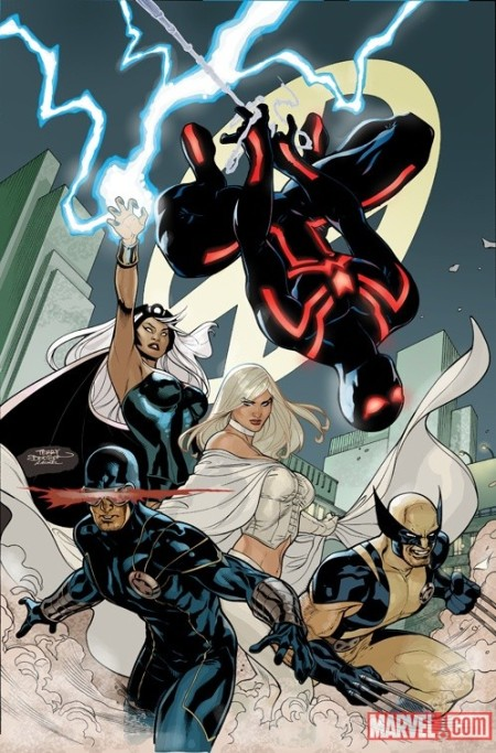 X-Men #7 cover dodson