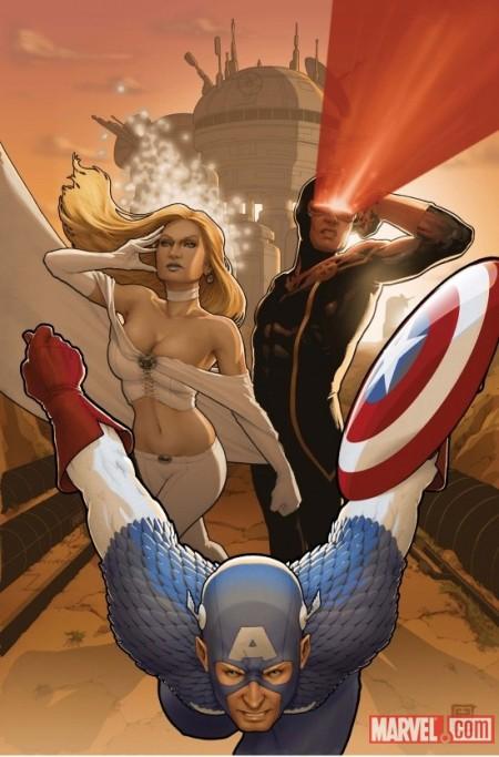 X-Men #9 Captain America Variant