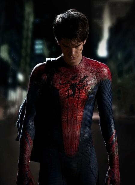 Andrew Garfieldas Spider-Man