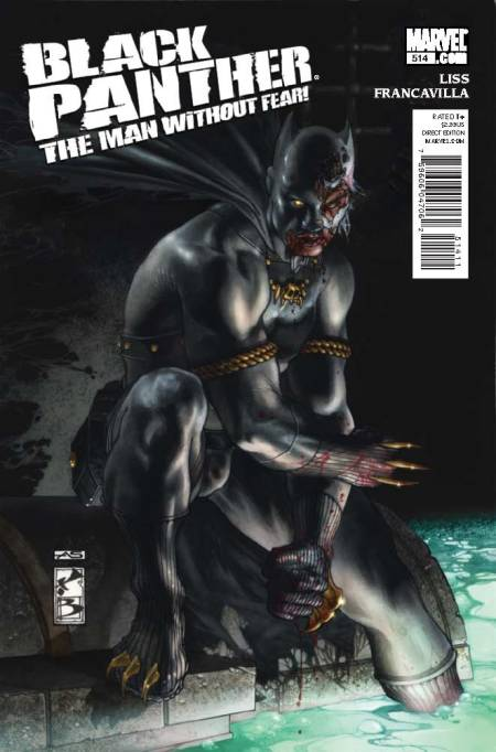 Black Panther: The Man Without Fear #514