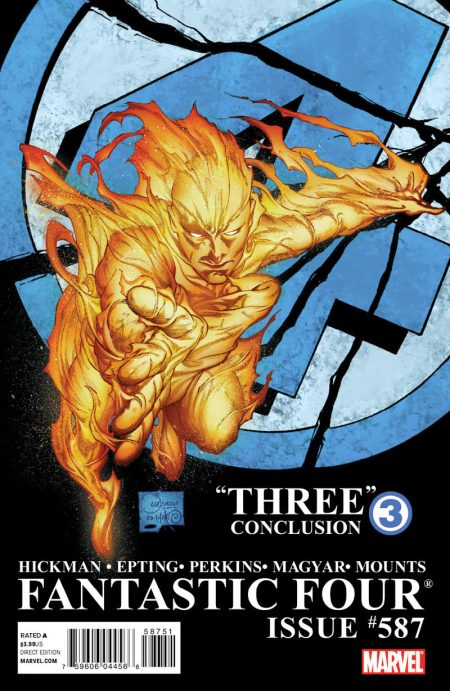 Fantastic Four #587 2nd printing