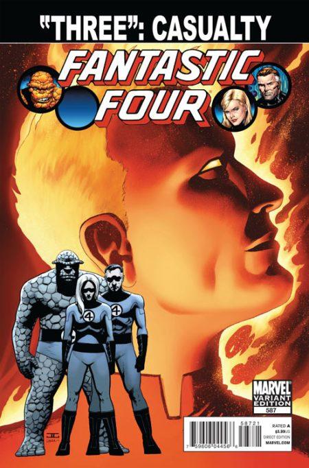 Fantastic Four #587 Cassaday Variant