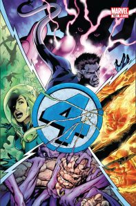 Fantastic Four #587 Cover