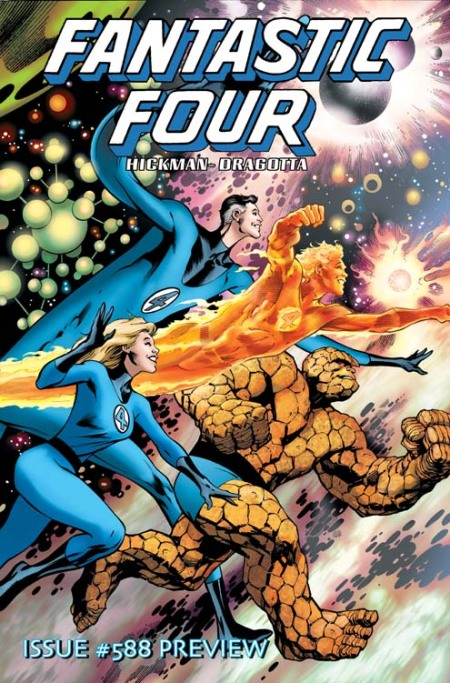 Fantastic Four #588 Cover
