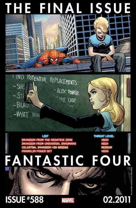 Fantastic Four #588 Teaser