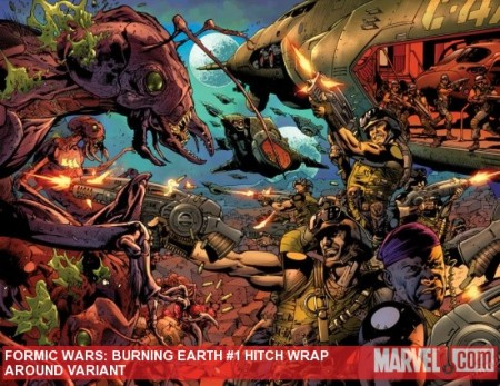 Formic Wars: Burning Earth #1 COVER HITCH VARIANT