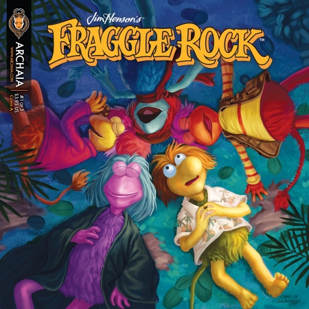 Fraggle Rock 001 Cover A