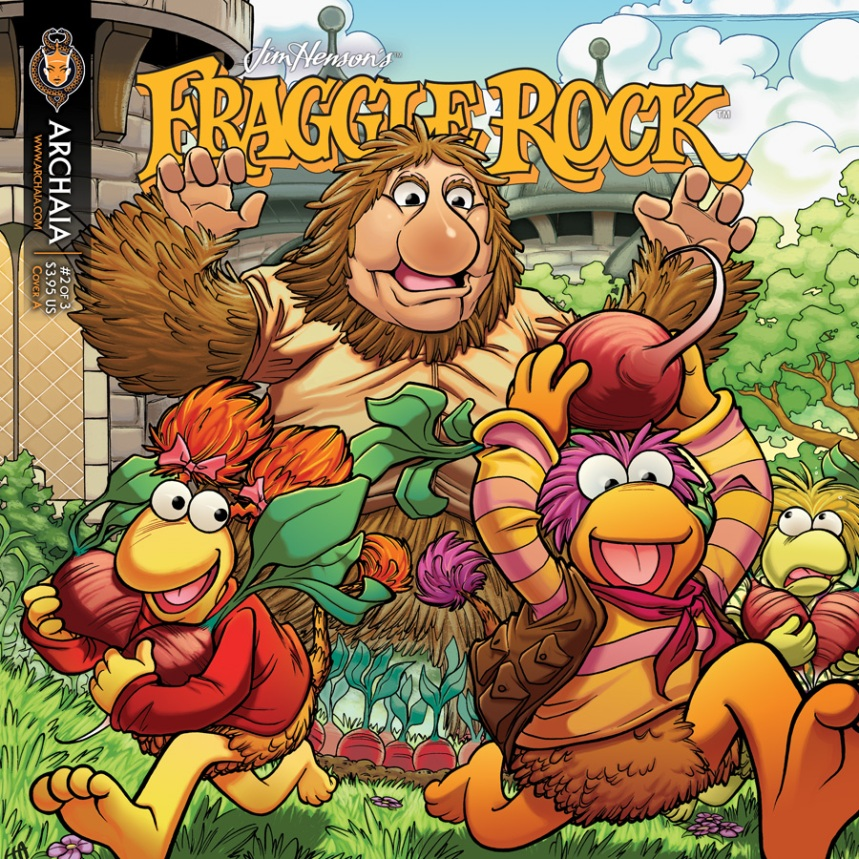Fraggle Rock v2 002 Cover A