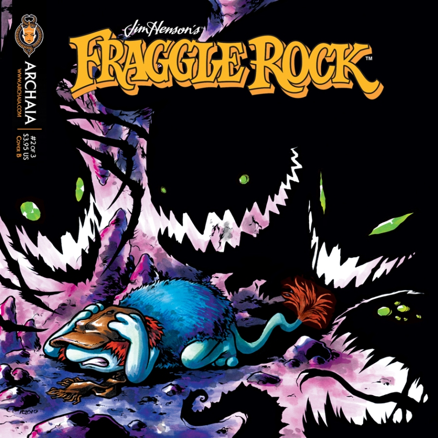 Fraggle Rock v2 002 Cover B