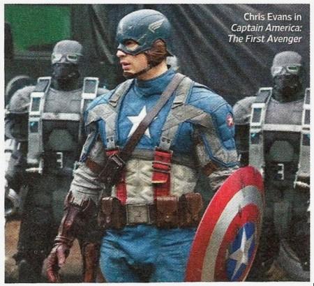 Full-Costume Captain America