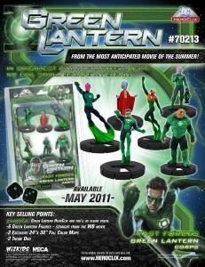 Green Lantern Wizkids 1