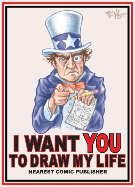 Harvey Pekar as Uncle Sam
