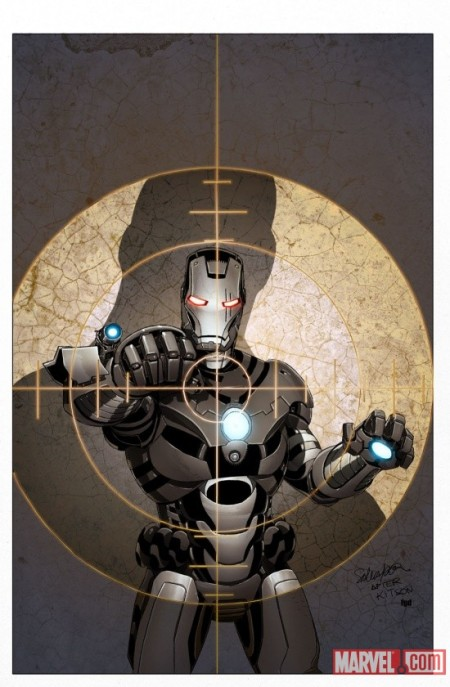 Iron Man 2.0 #4 Cover
