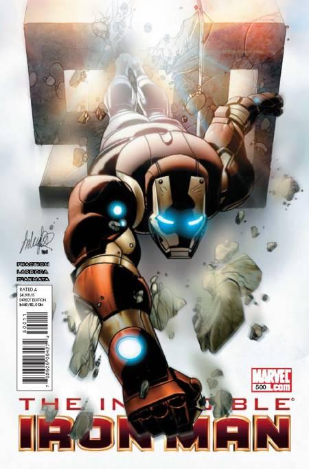 Invincible Iron Man #500
