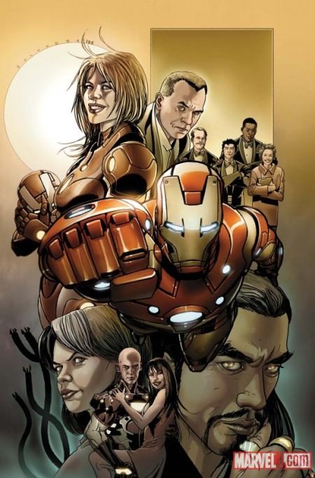 Invincible Iron Man #500.1 Cover