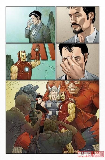 Invincible Iron Man #500.1 Preview1