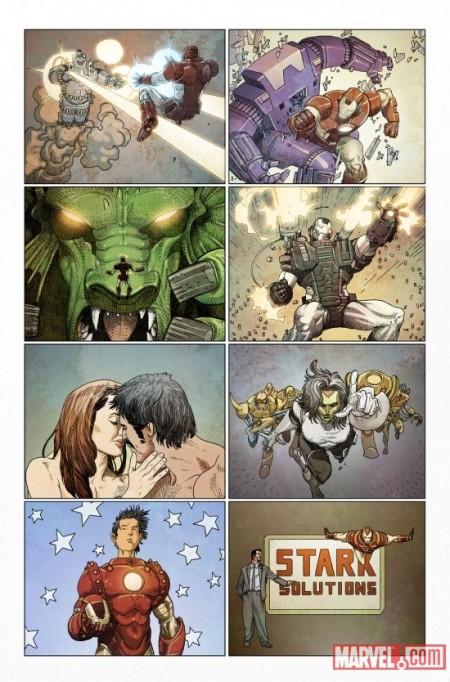 Invincible Iron Man #500.1 Preview4