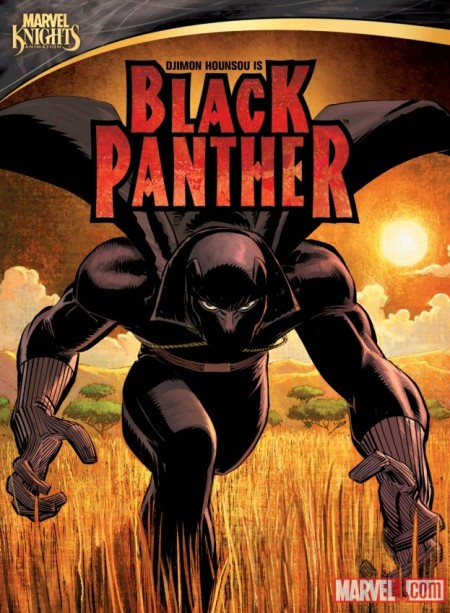 Marvel Knights Animation: Black Panther Cover
