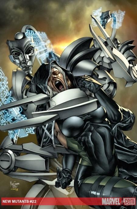 New Mutants #22 COVER