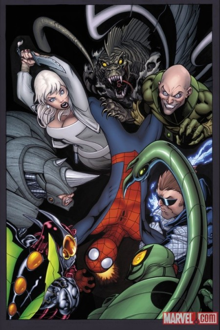 ULTIMATE COMICS SPIDER-MAN #153 COVER(W)