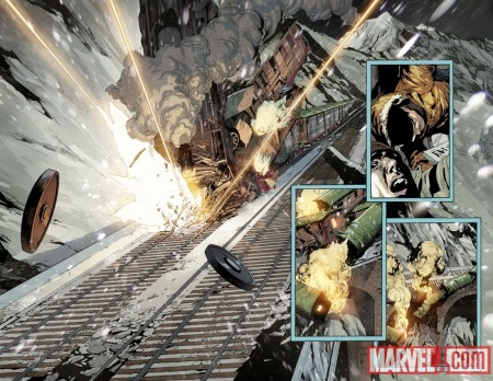 ULTIMATE AVENGERS VS. NEW ULTIMATES #1 PREVIEW2 (W)
