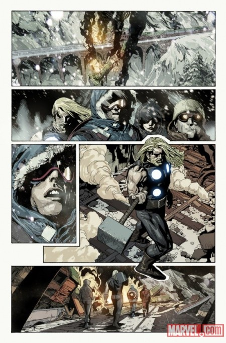 ULTIMATE AVENGERS VS. NEW ULTIMATES #1 PREVIEW3 (W)