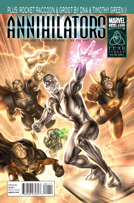 ANNIHILATORS #1