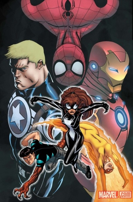AVENGERS ACADEMY GIANT SIZE #1 McGuinness Cover