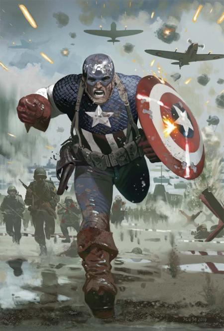 Captain America #615.1 Cover