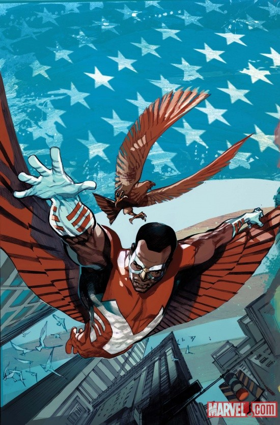 Captain America and Falcon #1 Cover