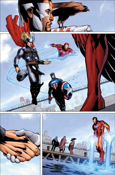 Captain America and Falcon #1 Preview3