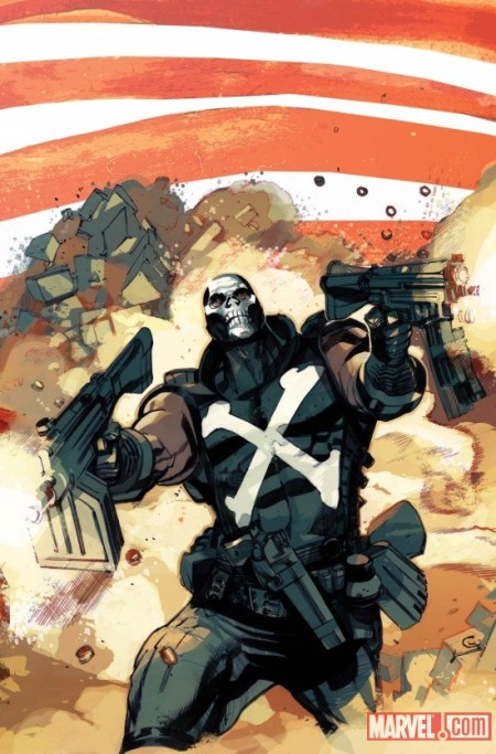 Captain America And Crossbones #1 Cover