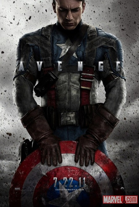 Captain America First Avenger Poster