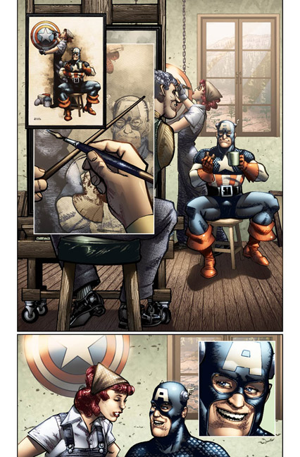 Captain America #616 Preview Chaykin1