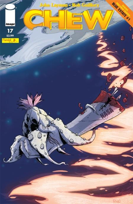 Chew #17 cover