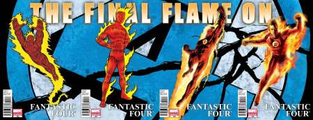 Fantastic Four #583 to #586
