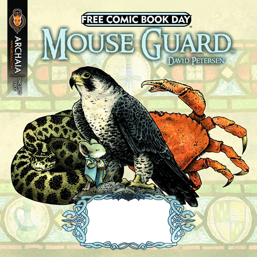 FCBD 2011 Mouse Guard