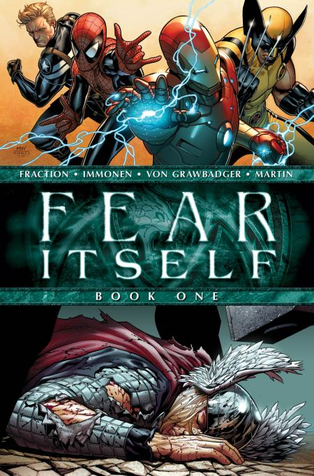 Fear Itself #1 Cover