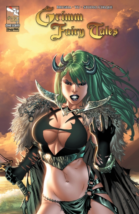 Grimm Fairy Tales #55 Cover A