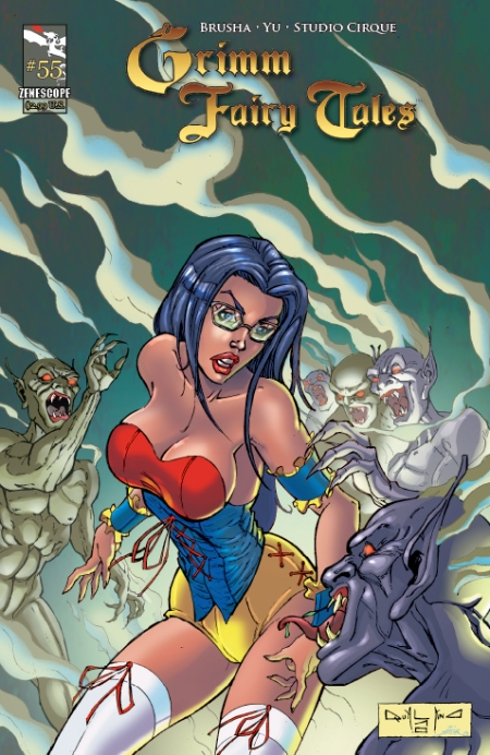 Grimm Fairy Tales #55 Cover B