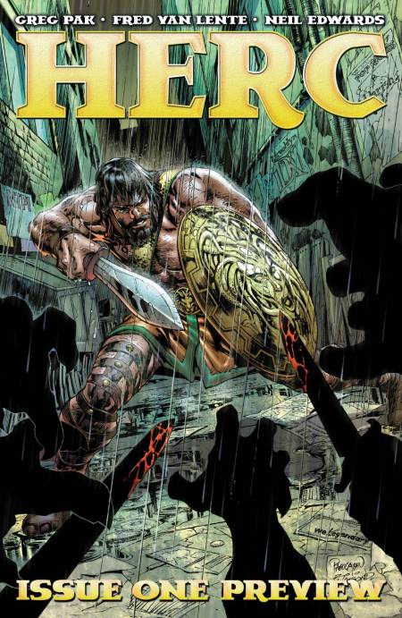 Herc #1 Cover
